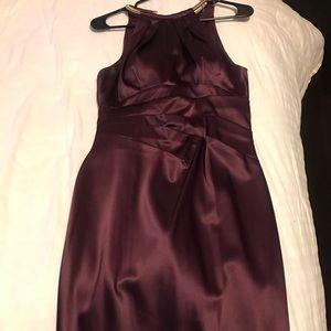 Dresses & Skirts - Wine Mid-Length Dress